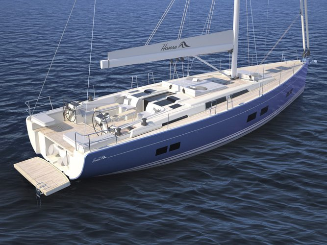 56.0 feet Hanse Yachts in great shape