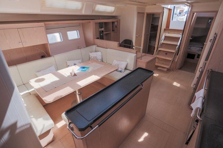 Discover Split region surroundings on this Hanse 575 Hanse Yachts boat