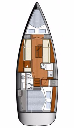 Boat for rent Jeanneau 32.0 feet in Marina Tehnomont Veruda, Pula, Croatia