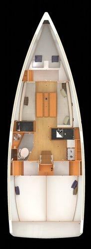Boat for rent Jeanneau 33.0 feet in Marina Split - ACI ,