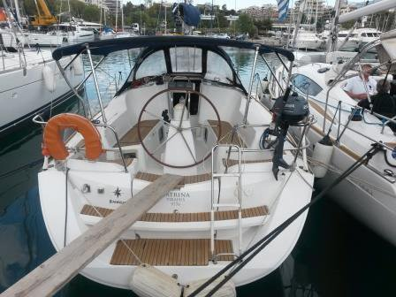 Jeanneau's 35.0 feet in Saronic Gulf