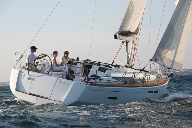 Unique experience on this beautiful Jeanneau Sun Odyssey 409