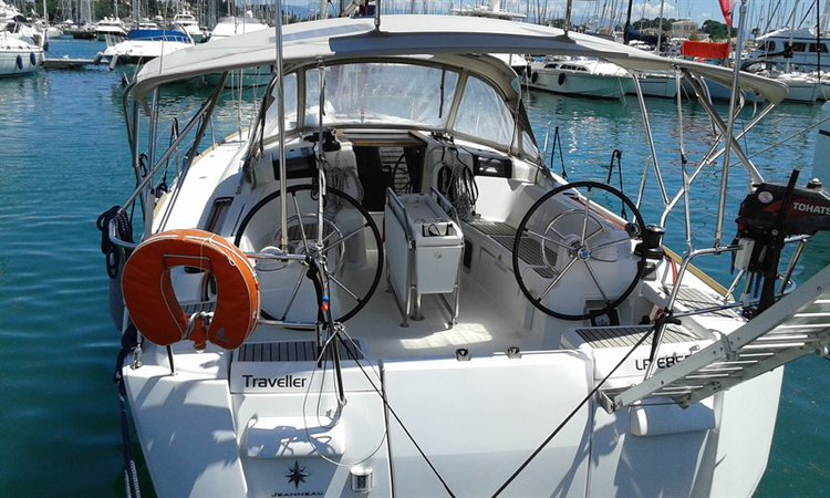 Boating is fun with a Jeanneau in Ionian Islands