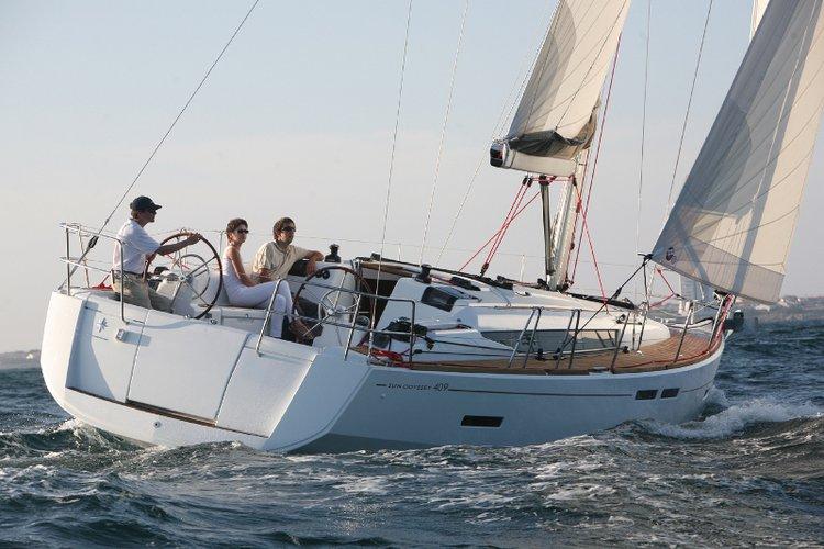 Sail Ionian Islands waters on a beautiful Jeanneau