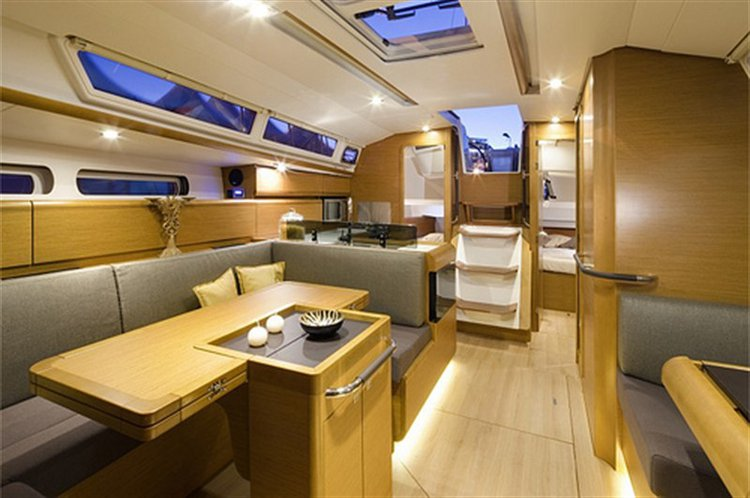 Discover Ionian Islands surroundings on this Sun Odyssey 409 Jeanneau boat