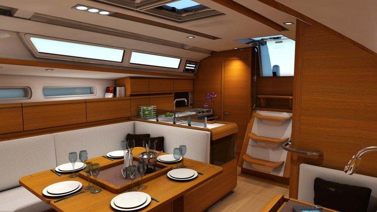 Boat for rent Jeanneau 40.0 feet in Marina Kastela, Croatia