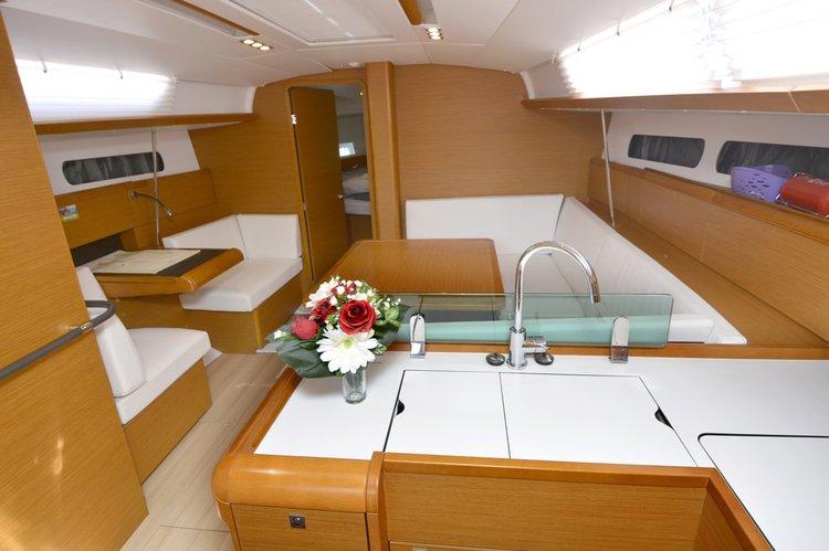 Boat for rent Jeanneau 41.0 feet in ACI Marina Dubrovnik (Komolac) , Croatia