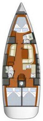 Jeanneau's 42.0 feet in Dodecanese