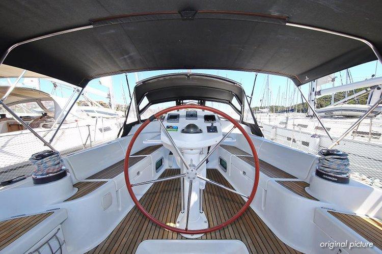 Boat for rent Jeanneau 43.0 feet in Marina Tehnomont Veruda, Pula, Croatia