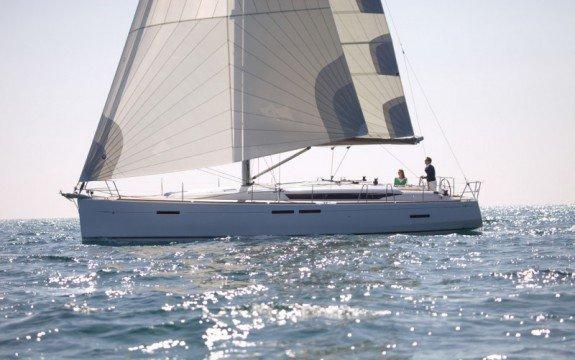 Charter a 45' cruising monohull in Spain