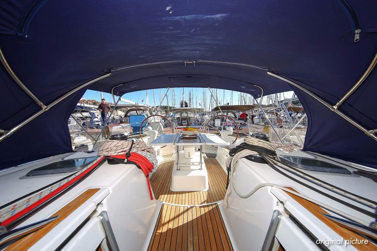 Boat for rent Jeanneau 45.0 feet in Marina Tehnomont Veruda, Pula, Croatia