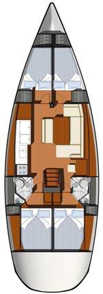 Boat for rent Jeanneau 45.0 feet in Athens, Marina Alimos (Kalamaki), Greece