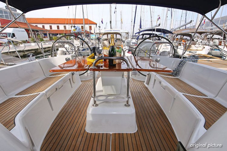 Boat for rent Jeanneau 45.0 feet in Marina Trogir – ACI, Croatia