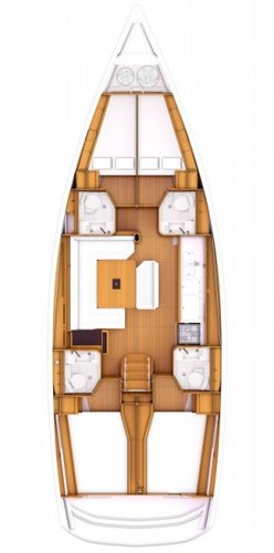 Boat for rent Jeanneau 46.0 feet in Athens, Marina Alimos (Kalamaki), Greece
