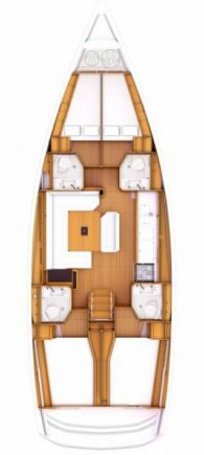 This 46.0' Jeanneau cand take up to 10 passengers around Saronic Gulf