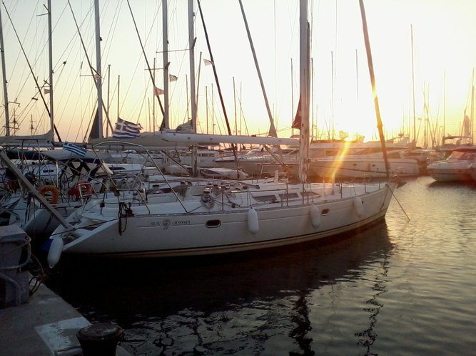 Jeanneau's 47.0 feet in Saronic Gulf