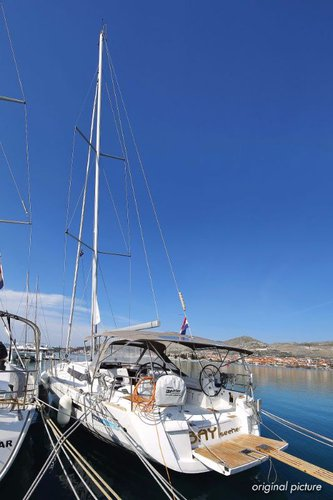 Discover Split region surroundings on this Sun Odyssey 469* Jeanneau boat
