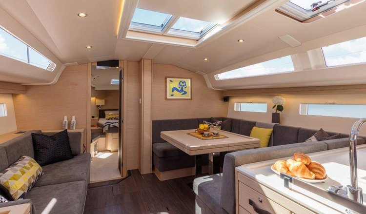 Discover Primorska  surroundings on this Jeanneau 51 Jeanneau boat