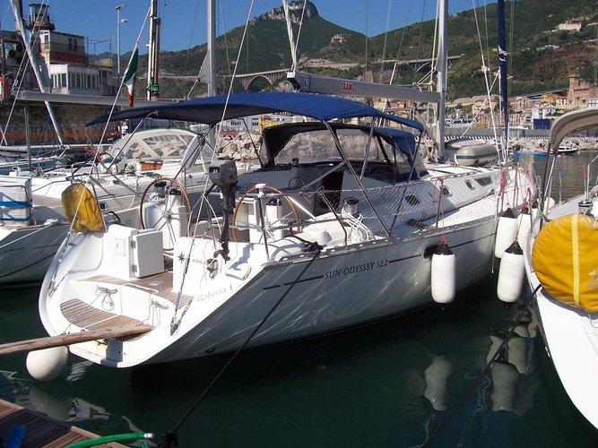 Experience Sardinia on board this amazing Jeanneau