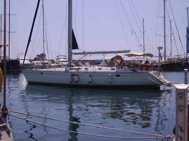 Jeanneau's 50.0 feet in Saronic Gulf