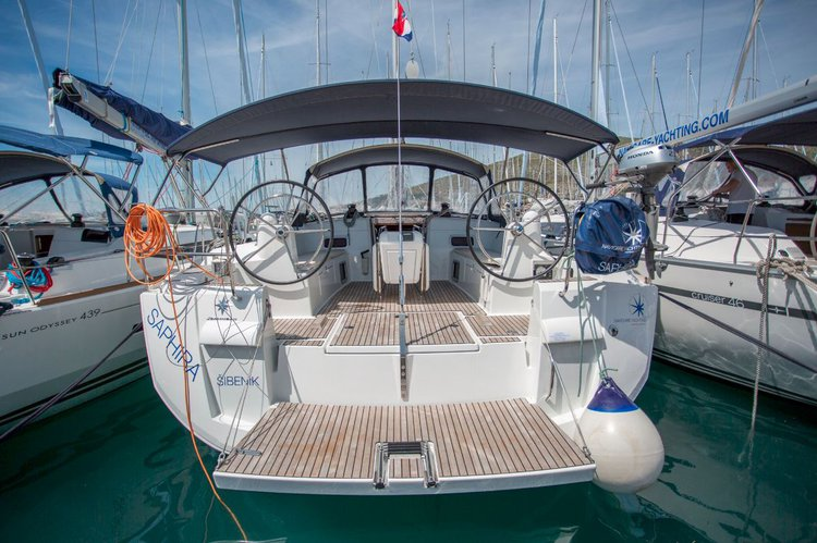 Discover Split region surroundings on this Sun Odyssey 509 Jeanneau boat