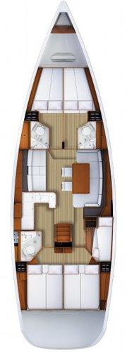 Boat for rent Jeanneau 52.0 feet in Marina Split - ACI ,
