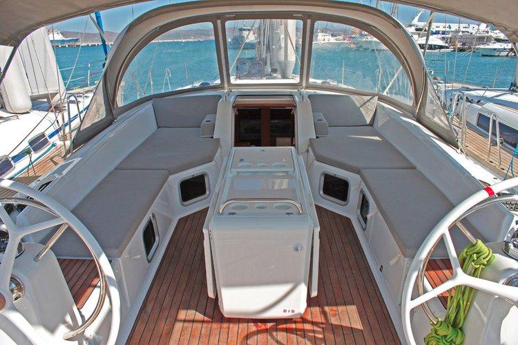 Jeanneau's 53.0 feet in Cyclades