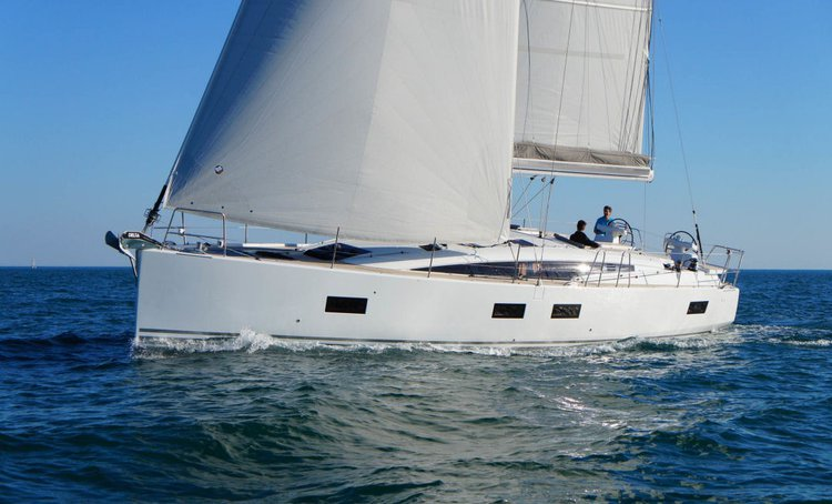Discover Dodecanese surroundings on this Jeanneau 54 Jeanneau boat