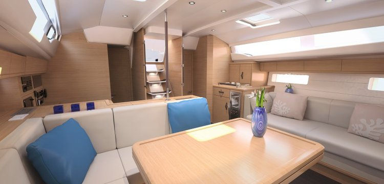 Discover Saronic Gulf surroundings on this Jeanneau 54 Jeanneau boat