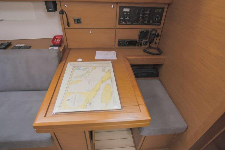 Discover Split region surroundings on this Jeanneau 54 Jeanneau boat
