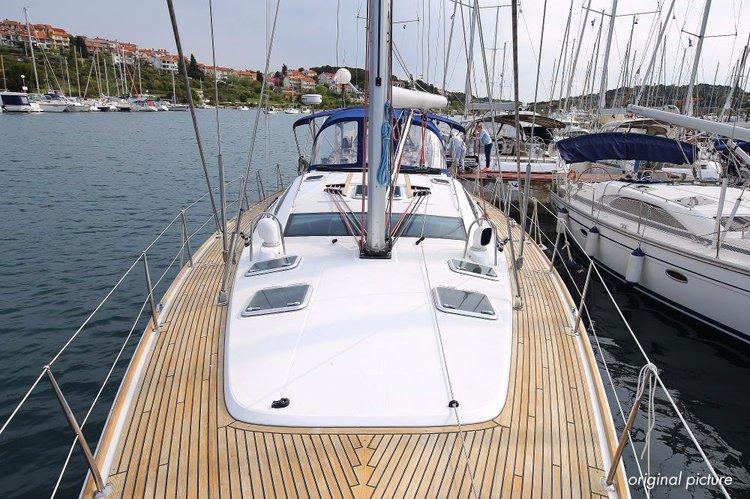 Jeanneau's 54.0 feet in Istra
