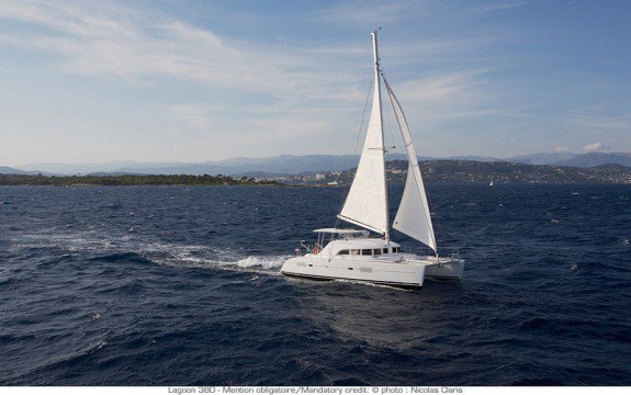 Set sail in St. Vincent and the Grenadines onboard this elegant catamaran