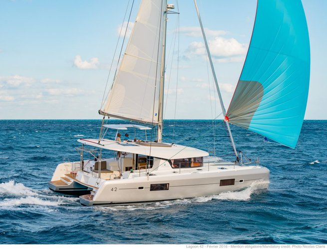 Make your vacation memorable forever onboard Lagoon 42 Owner Version Luxe
