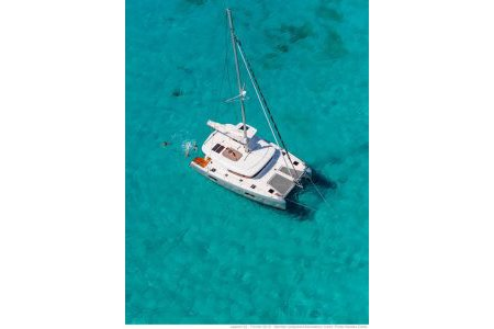 Discover Palma, Illes Balears surroundings on this Custom Lagoon boat