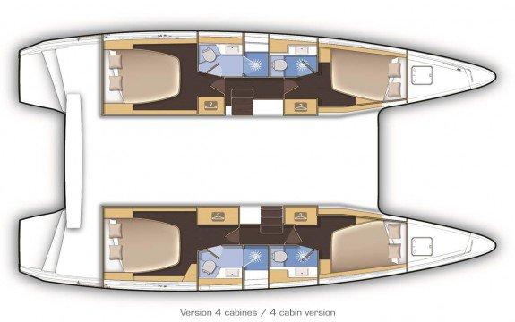 Boat for rent Lagoon 42.0 feet in Palma, Illes Balears, Spain