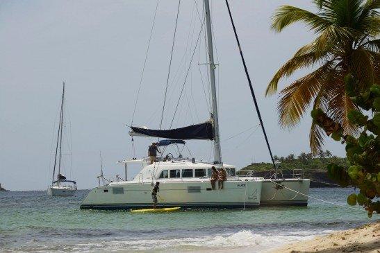 Explore Grenada onboard Lagoon 440