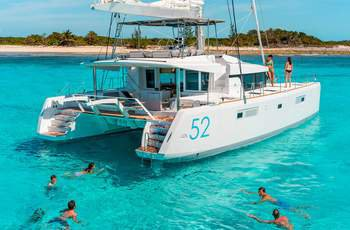 Rent a 52' Lagoon in Bahamas