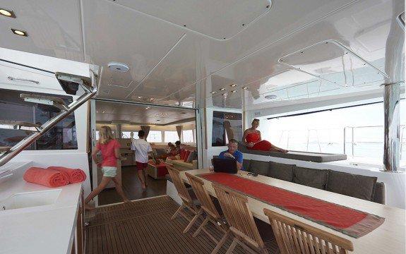 Catamaran boat rental in Abaco,