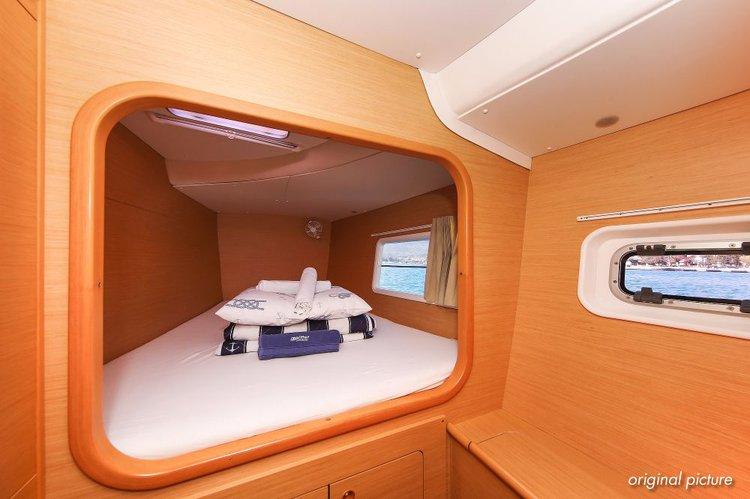 Boat for rent Lagoon-Bénéteau 37.0 feet in Marina Trogir – ACI,