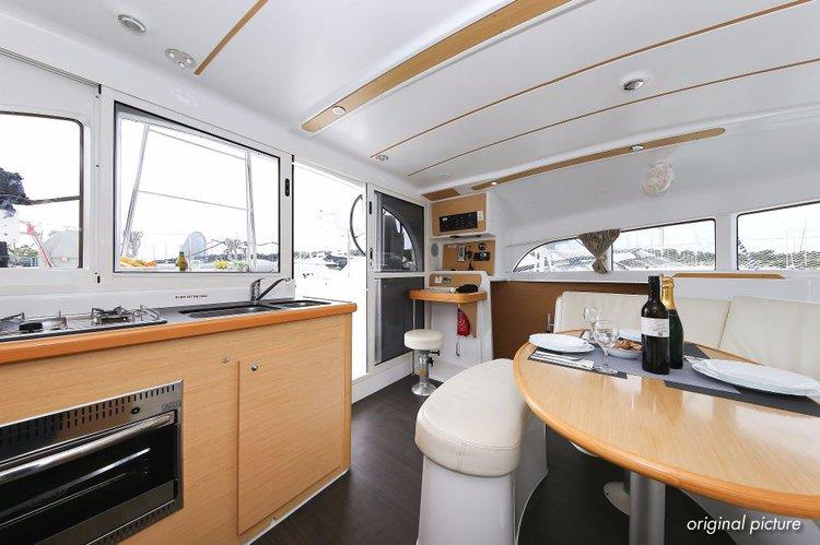 Catamaran boat rental in Marina Kornati, Biograd, Croatia