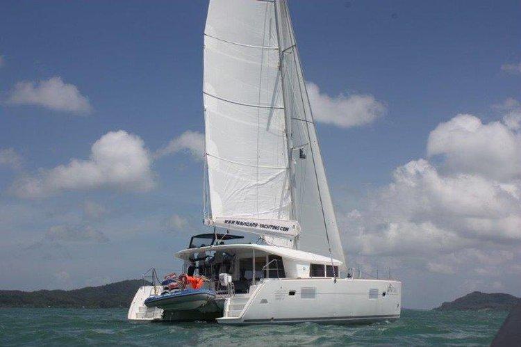 Catamaran boat rental in Yacht Haven Marina (Phuket),