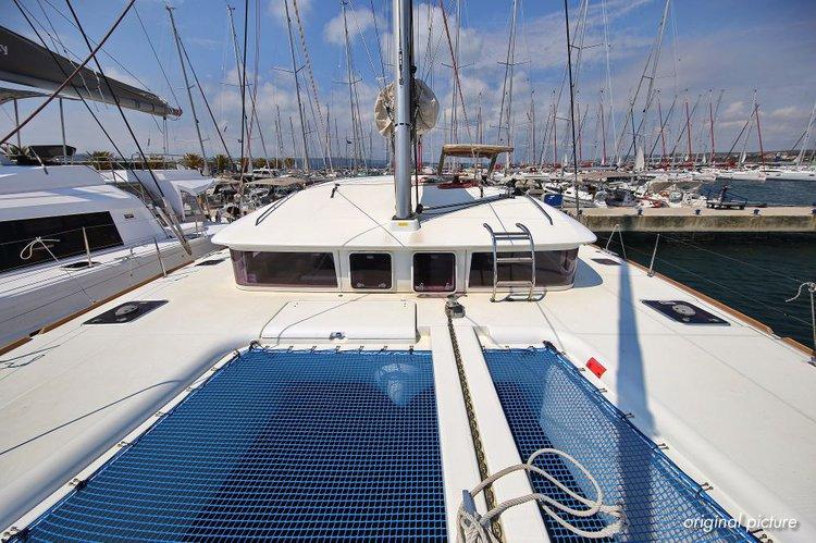 This 39.0' Lagoon-Bénéteau cand take up to 10 passengers around Zadar region