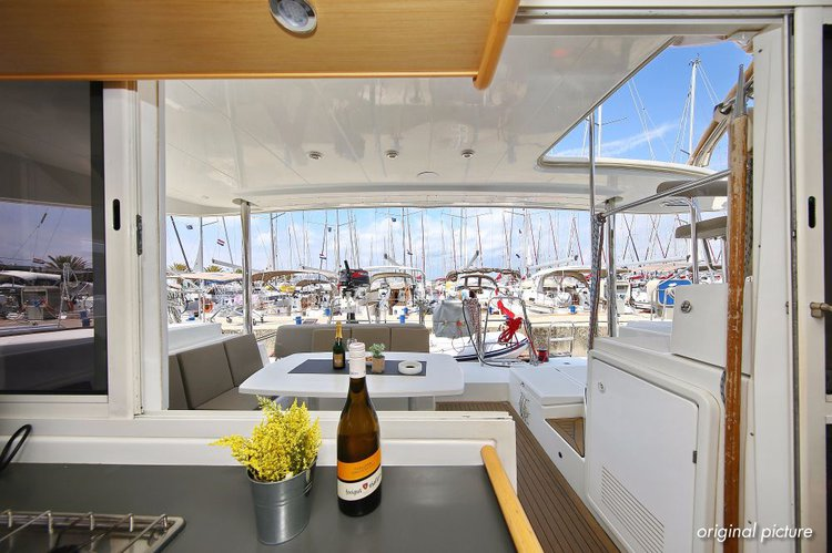 Boat for rent Lagoon-Bénéteau 39.0 feet in Marina Kornati, Biograd,