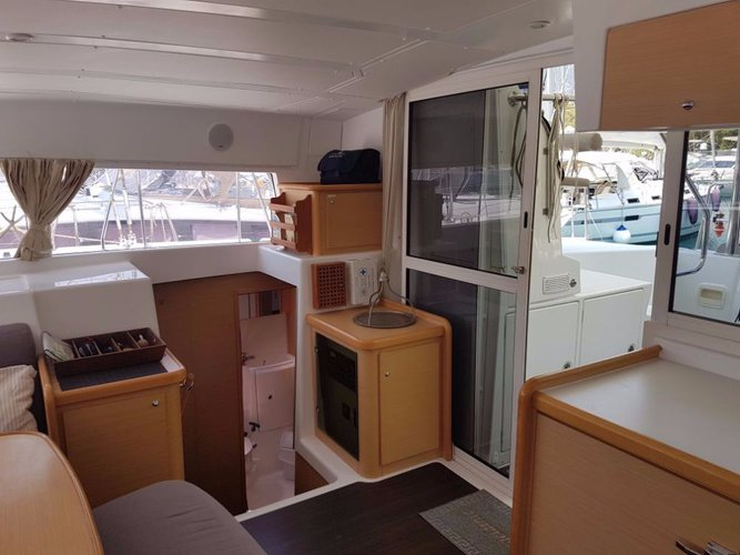 Lagoon-Beneteau boat for rent in Aegean