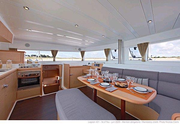 Catamaran boat rental in Sicily, Italy