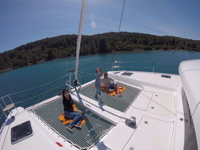 Boat for rent Lagoon-Bénéteau 41.0 feet in Marina Trogir - SCT,