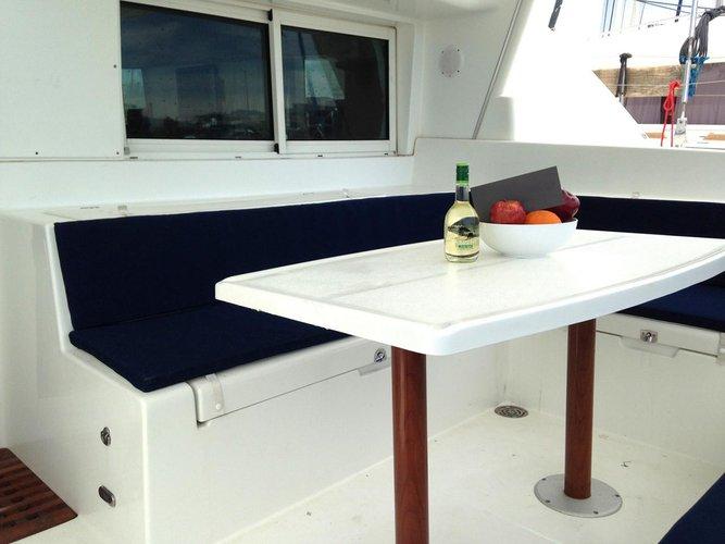 Catamaran boat rental in Athens, Marina Alimos (Kalamaki),