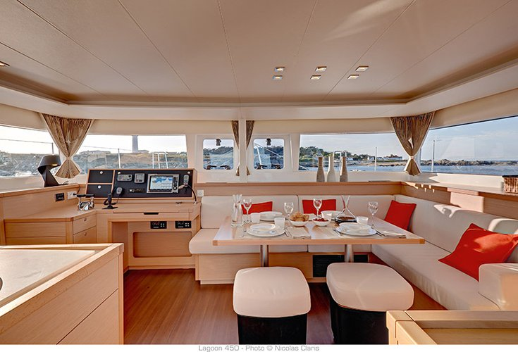 Boat for rent Lagoon-Bénéteau 45.0 feet in Marina Trogir - SCT,
