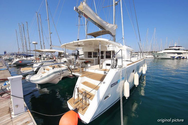 Boat for rent Lagoon-Bénéteau 45.0 feet in Marina Kornati, Biograd, Croatia
