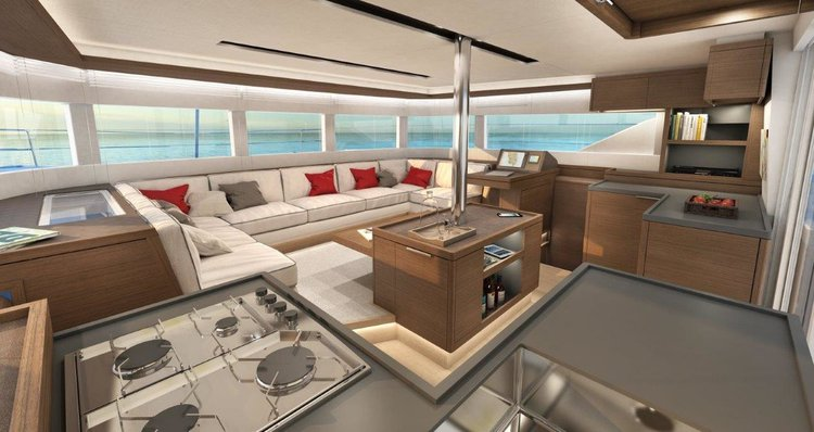 Catamaran boat rental in Marina Nava, Split,